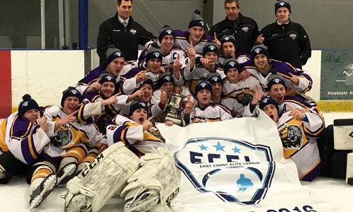 NH Jr Monarchs U18 Tier 1 Full Season Team wins ECEL championship